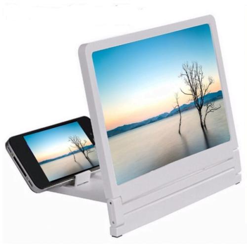 Smartphone Vergrootglas Wit
