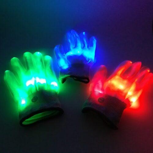 Handschoen met LED Verlichting