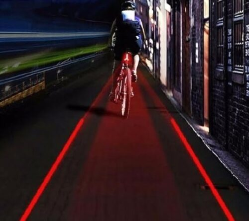 Laser Led Fietsverlichting