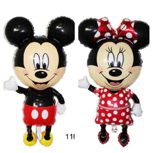 Collage Mickey Mouse Minnie Mouse