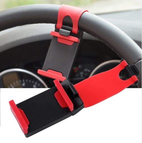 Smartphone Houder voor aan Stuur Auto Voorbeeld