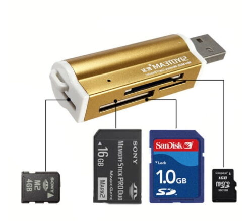 Sleutelhanger Memorycard Reader Overzicht